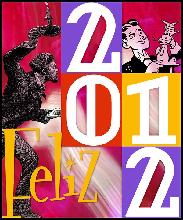 Feliz 2012 para todos os leitores deste blog!