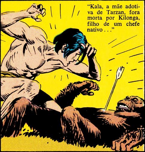 A origem de Tarzan - A morte de Kala