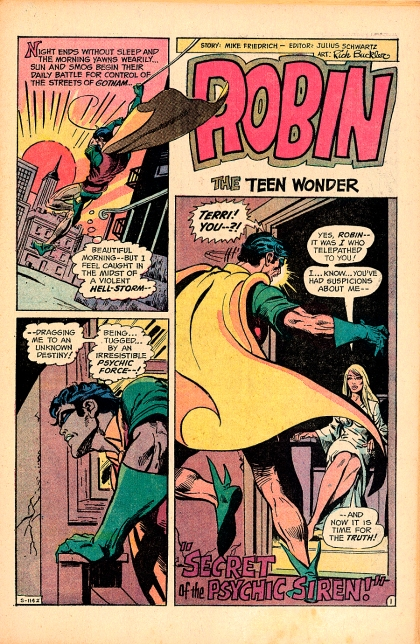 Robin, The Teen Wonder