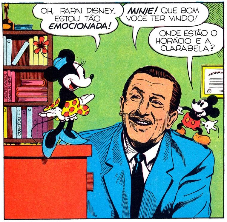 Walt Disney, Mickey e Minie