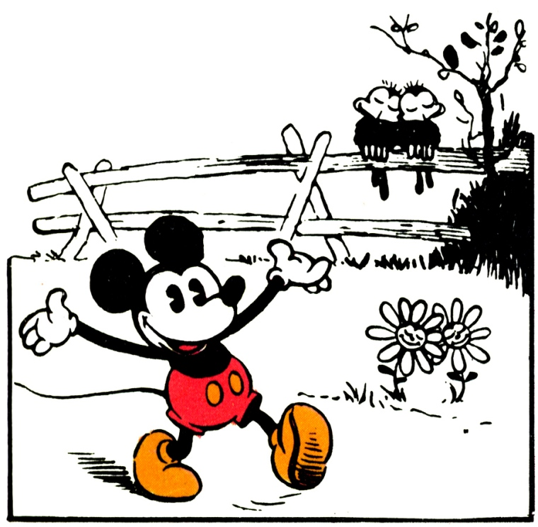 Mickey: Lost on a Desert Island
