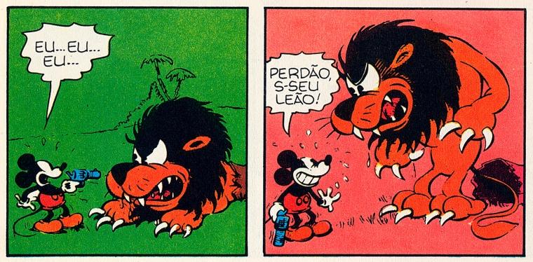 Mickey: Lost on a Desert Island