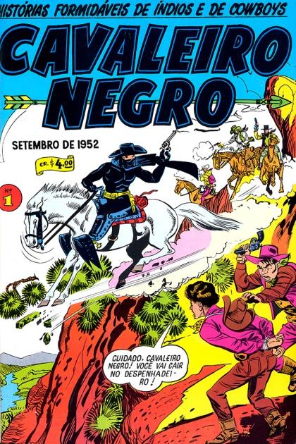 Cavaleiro Negro #1 - Setembro de 1952