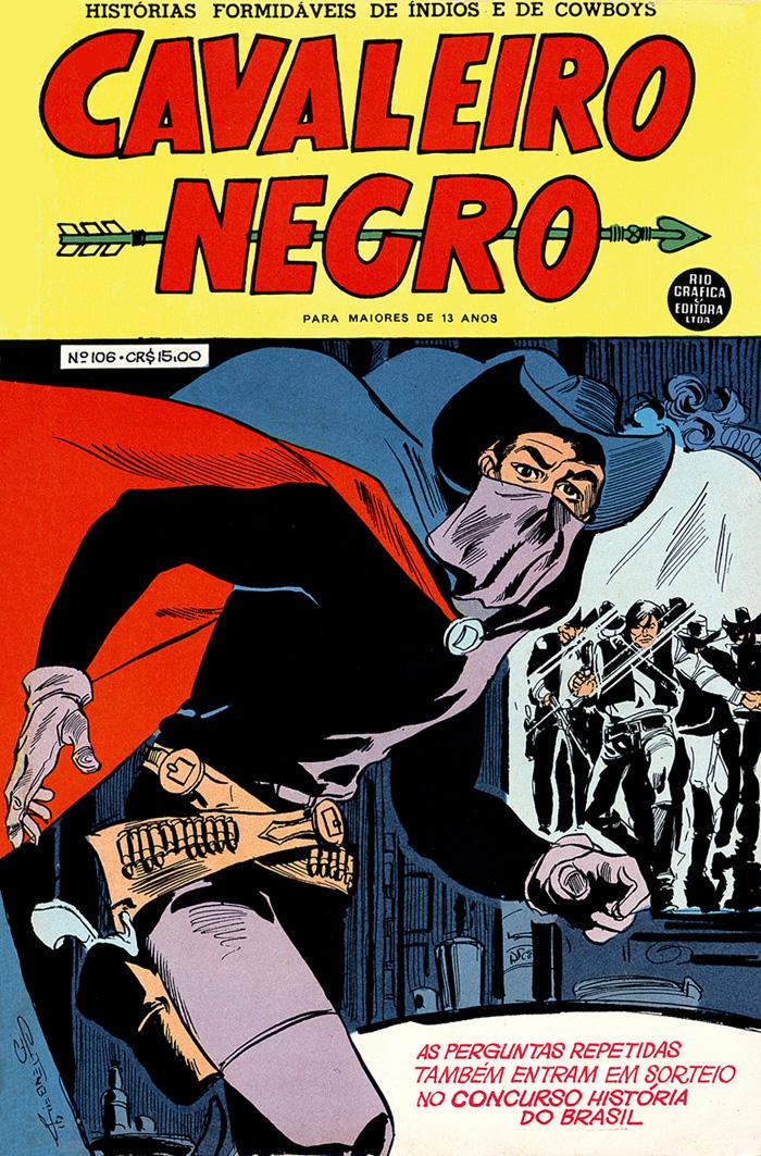 Cavaleiro Negro #106 - Capa de Gutemberg