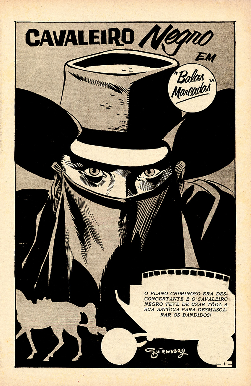 Cavaleiro Negro #113, por Gutemberg