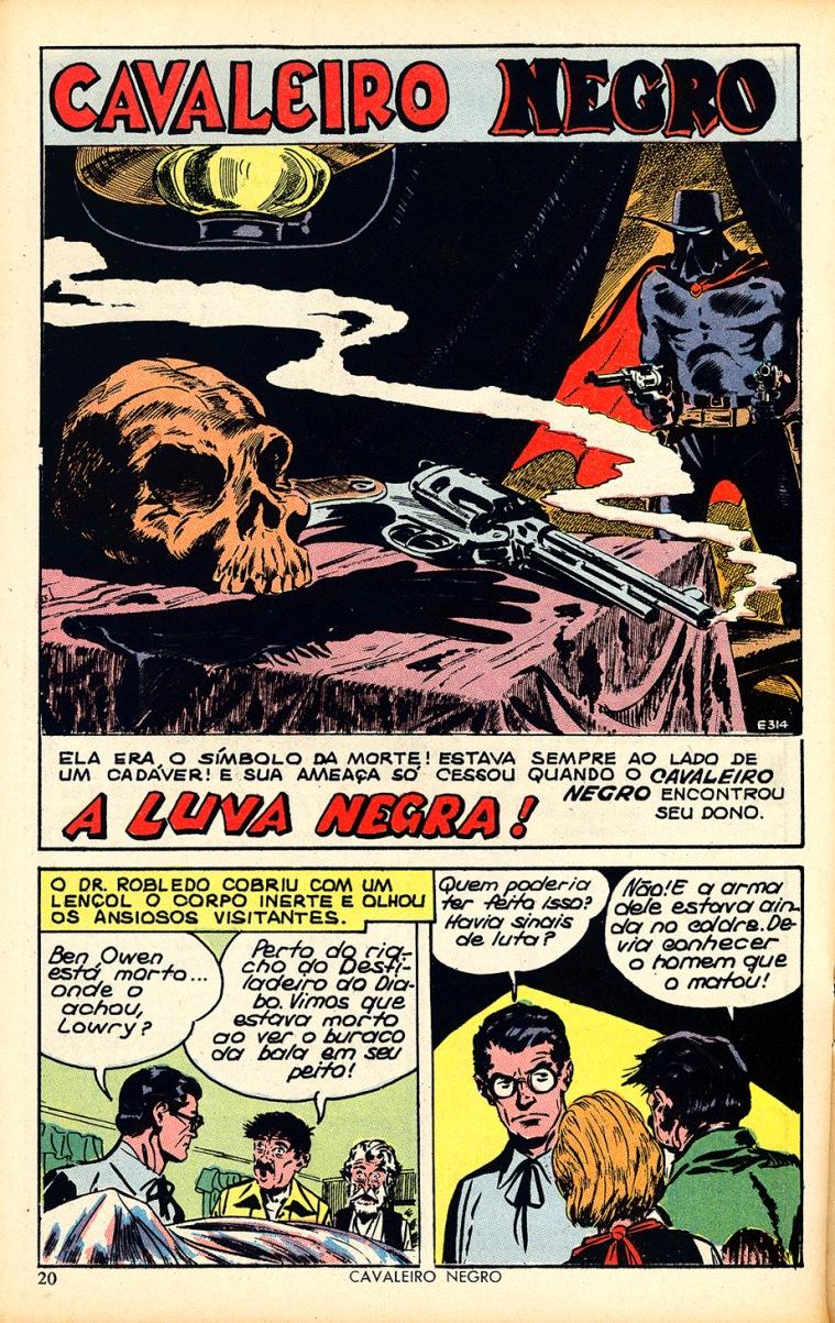 Cavaleiro Negro #240 - página 20