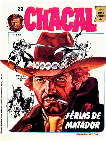 Chacal #23 - Série Tony Carson