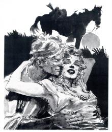 Ken Parker encontra Marilyn Monroe em Um Príncipe Para Norma
