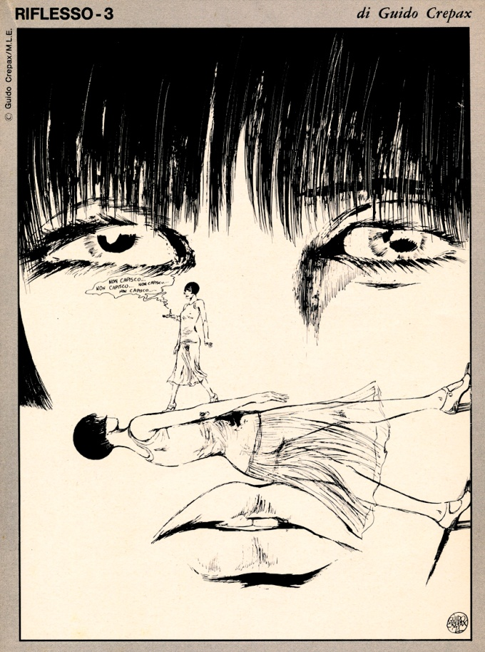 Valentina em Riflesso. Publicada na revista AlterLinus #5