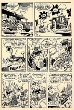 13ª página da história O Carro Atômico.
